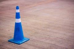 De verschillende kleur van de verkeerskegel Royalty-vrije Stock Afbeelding