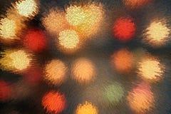 De verschillende kleuren van licht drijven achtergrond uit royalty-vrije illustratie