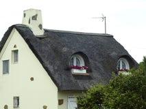 De verschillende stijlen van Bretagne van huizen Stock Fotografie