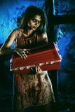 De verschrikking van de nacht Stock Afbeelding