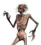 De Verschrikking van de zombie Stock Foto's