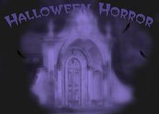 De verschrikking van Halloween royalty-vrije illustratie