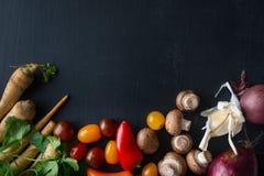 De verse Achtergrond van het Voedselingrediënt Royalty-vrije Stock Foto's