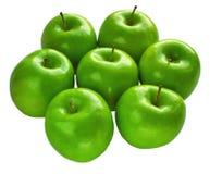 De verse appelen van de Granny Smith Royalty-vrije Stock Foto