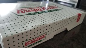 De verse Doughnuts van Krispy Kreme stock afbeelding