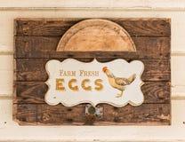 De Verse Eieren van het landbouwbedrijf Royalty-vrije Stock Foto's