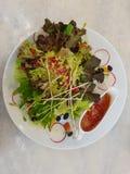 De verse groene salade is groot voor u Stock Afbeelding