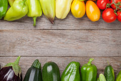 De verse landbouwers tuinieren groenten royalty-vrije stock foto's
