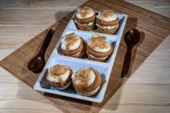 De verse Muffins van de Banaannoot Stock Foto's