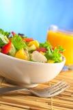 De verse Salade van de Kip Stock Fotografie