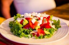 De verse Salade van de Zomer stock foto's