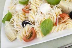 De verse Salade van Deegwaren stock foto's
