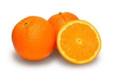 Sinaasappel drie Stock Foto