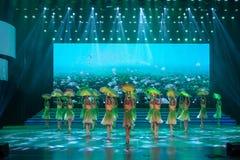 De verse wind blaast zacht-klassieke ballet-Internationale Dag van de Arbeidprestaties Royalty-vrije Stock Foto's