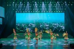 De verse wind blaast zacht-klassieke ballet-Internationale Dag van de Arbeidprestaties Royalty-vrije Stock Afbeeldingen