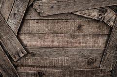 De Rustieke Houten Achtergrond van Grunge Stock Foto's