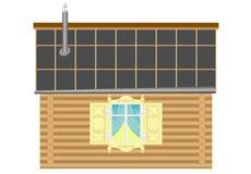 De versie van het huis stock illustratie