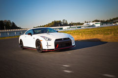 De Versie van Nissan GT-R Nismo Royalty-vrije Stock Foto