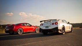De Versie van Nissan GT-R Nismo Stock Afbeelding