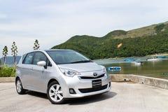 De Versie 2014 van Toyota Ractis Japan Royalty-vrije Stock Fotografie