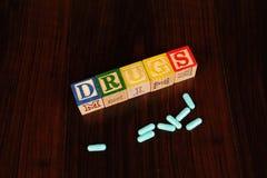 De verslaving van de drug Stock Afbeelding