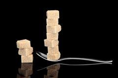 De Verslaving van de suiker Stock Foto's