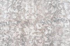 De versleten bleke witte en zwarte concrete achtergrond van de muurtextuur Geweven pleister royalty-vrije stock fotografie