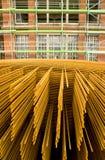 De versterking van het staal Stock Afbeeldingen