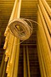 De versterking van het staal Stock Foto