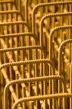 De versterking van het staal Stock Fotografie