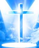 De vertegenwoordiging van het christendom stock illustratie