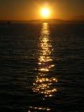 De Verticaal van de zonsondergang royalty-vrije stock afbeeldingen