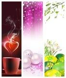 De verticale banners van de vakantie Royalty-vrije Stock Fotografie