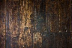 de verticale Textuur van Planking van de Schuur Houten Muur Teruggewonnen Oud Houten S Royalty-vrije Stock Foto