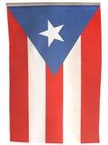 De verticale Vlag van Puerto Rico van de Vlag stock fotografie