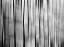 De verticale zwart-witte rug van het motieonduidelijke beeld Stock Foto