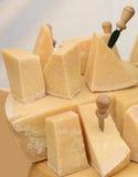 De Vertoning van de kaas. Royalty-vrije Stock Foto