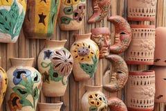De vertoning van het aardewerk Royalty-vrije Stock Afbeeldingen