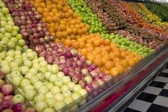 De vertoning van het fruit stock foto
