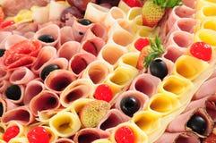 De vertoning van het voedsel Royalty-vrije Stock Fotografie