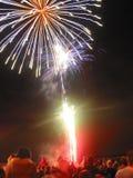 De Vertoning van het vuurwerk Royalty-vrije Stock Afbeeldingen