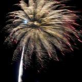 De Vertoning van het vuurwerk Stock Afbeelding