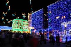 De vertoning van Kerstmis van Osborne bij de Wereld van Walt Disney Royalty-vrije Stock Foto's