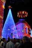 De vertoning van Kerstmis van Osborne bij de Wereld van Walt Disney Stock Foto's