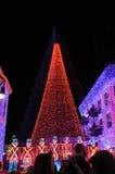 De vertoning van Kerstmis van Osborne bij de Wereld van Walt Disney Stock Fotografie