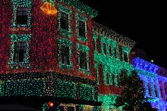 De vertoning van Kerstmis van Osborne bij de Wereld van Walt Disney Royalty-vrije Stock Foto