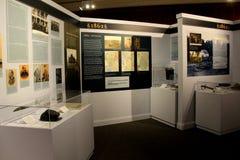 De vertoningen van punten en de geschiedenis tijdens 1862, Militair Museum, Saratoga springen, New York, 2016 op royalty-vrije stock afbeeldingen