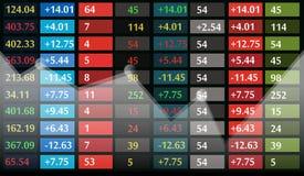 De vertoningsachtergrond van de voorraadmarktprijs Stock Afbeeldingen