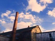 De vervallen bouw Stock Foto