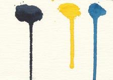 De verven van Watercolour Stock Fotografie